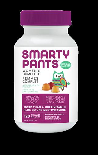 Picture of SmartyPants SmartyPants Women's Complete, 120 Gummies