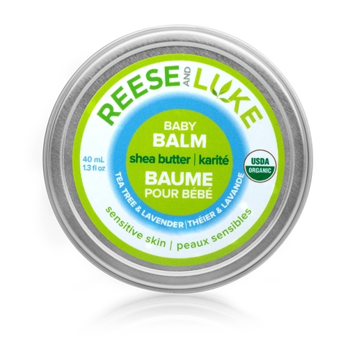 Picture of Reese and Luke Reese and Luke Shea Butter Baby Balm, Tea Tree & Lavender 40ml