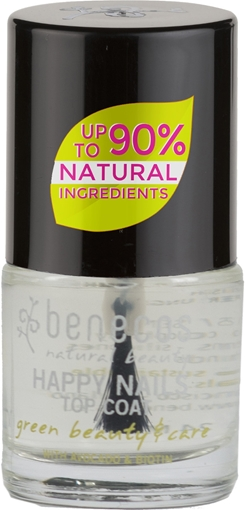 Picture of Benecos Benecos Nail Polish, Crystal Clear 9ml