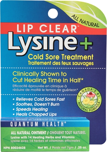 Picture of Quantum Lip Clear Lysine+ Ointment, 7g