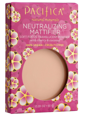 Picture of Pacifica Pacifica Neutralizing Mattifier Powder Shade 2, Cherry & Coconut  8.1g