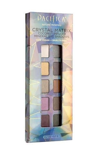 Picture of Pacifica Crystal Matrix 10 Well Eye Shadow, 0.20 oz