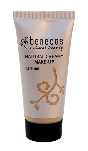 Picture of Benecos Flawless Face Matte Foundation, Caramel 30ml