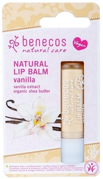 Picture of  Benecos Natural Lip Balm, Vanilla 4.5g
