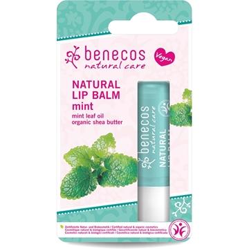 Picture of  Benecos Natural Lip Balm, Mint 4.5g