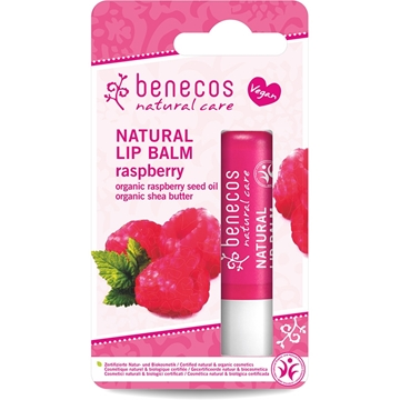 Picture of  Benecos Natural Lip Balm, Raspberry 4.5g