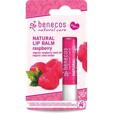 Picture of  Benecos Natural Lip Balm, Raspberry 4.5g