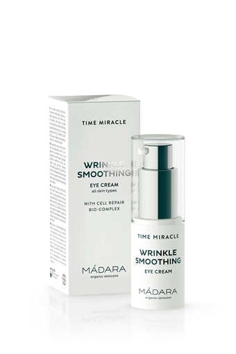 Picture of Mádara Time Miracle Wrinkle Smoothing Eye Cream, 15ml