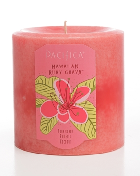 Picture of  Pacifica Hawaiian Ruby Guava 3x3 Pillar