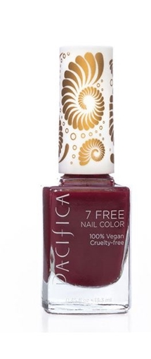 Picture of Pacifica Pacifica 7 Free Nail Polish, Red Red Wine 13ml