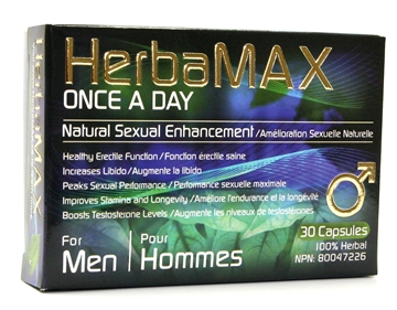 Picture of HerbaMax Inc Mens Once A Day-30 Capsules