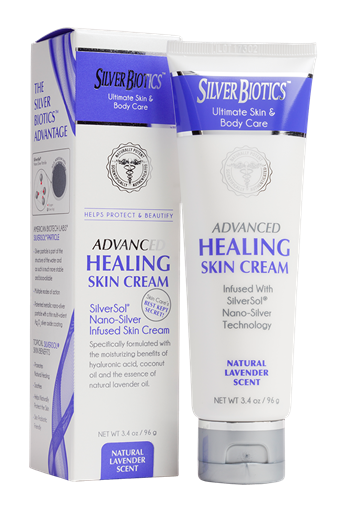 Picture of Silver Biotics Silver Biotics Healing Skin Cream, Lavender 96g
