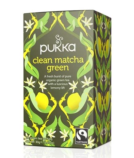 Picture of Pukka Teas Pukka Teas Clean Matcha Green Tea, 20 Bags