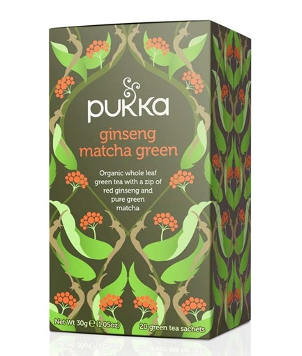 Picture of Pukka Teas Pukka Teas Ginseng Matcha Green Tea, 20 Bags