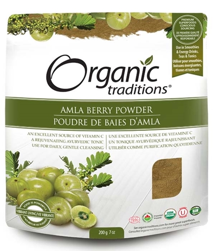 Picture of Organic Traditions Organic Amla Berry Powder, 200g
