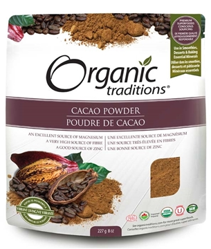 Picture of Organic Traditions Organic Traditions Cacao Powder, 227g