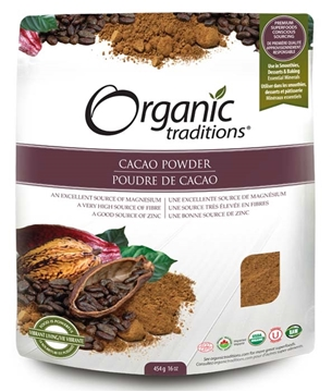 Picture of  Organic Traditions Cacao Powder, 454g