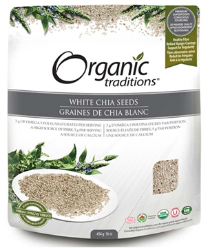 Picture of  White Whole  Chia Seeds, 454g