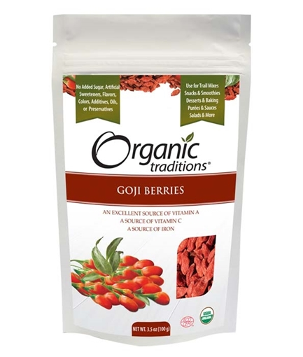 Picture of Organic Traditions Organic Traditions Goji Berries, 100g
