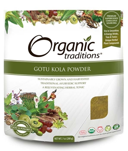 Picture of Organic Traditions Organic Traditions Gotu Kola Powder, 200g
