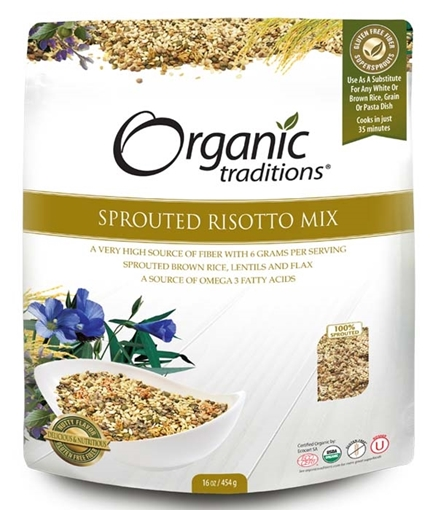 Picture of Organic Traditions Organic Traditions Sprouted Risotto Mix, 454g