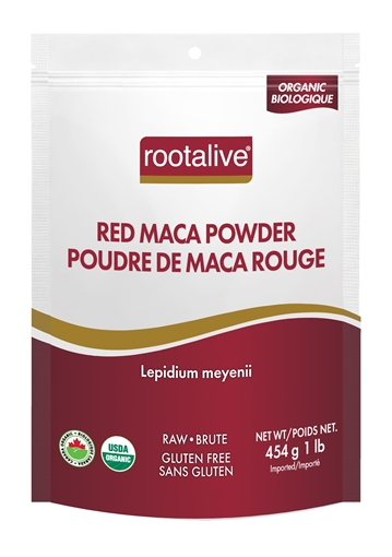 Picture of Rootalive Inc. Organic Red Maca Powder, 454g