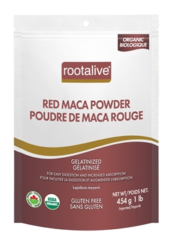 Picture of  Organic Gelatinized Red Maca Powder, 454g