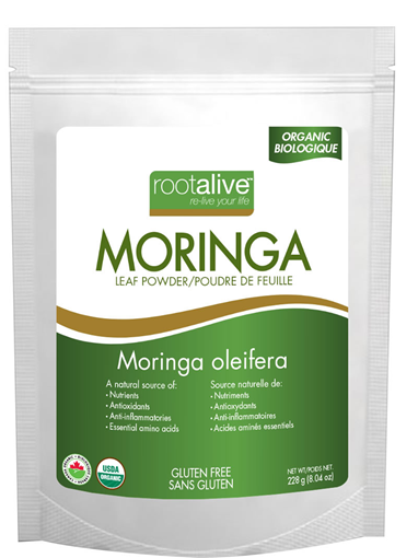 Picture of Rootalive Inc. Organic Moringa Leaf Powder, 454g