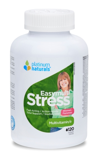 Picture of Platinum Naturals Easymulti Stress for Women, 120 Softgels