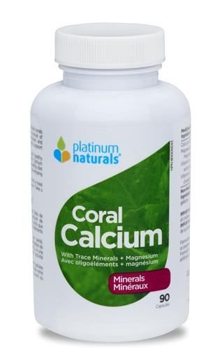 Picture of Platinum Naturals Platinum Naturals Coral Calcium, 90 Capsules