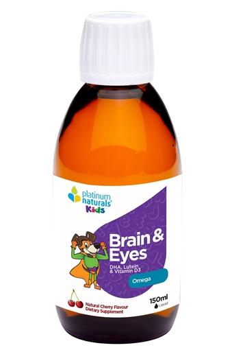 Picture of Platinum Naturals Platinum Naturals Kids Brain & Eyes, 150ml