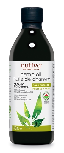 Picture of Nutiva Organic Hemp Oil, 473ml