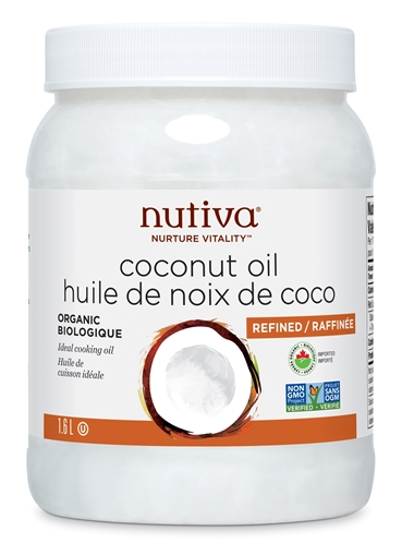 Picture of Nutiva Organic Refined Coconut Oil, 1.6L