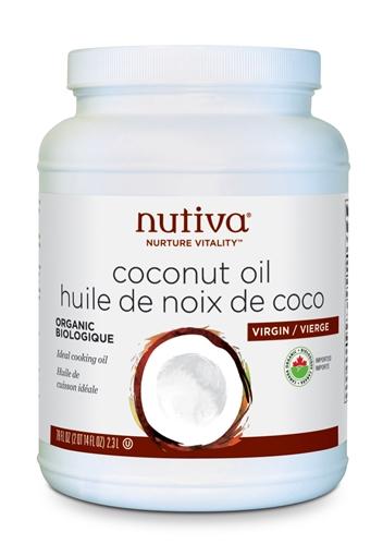 Picture of Nutiva Organic Virgin Coconut Oil, 2.3L