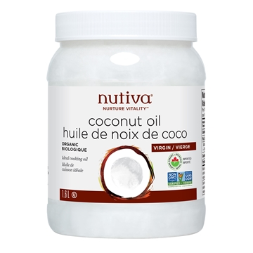 Picture of  Nutiva Organic Virgin Coconut Oil, 1.6L