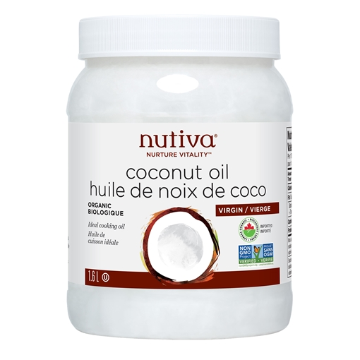 Picture of Nutiva Nutiva Organic Virgin Coconut Oil, 1.6L