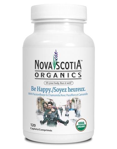 Picture of Nova Scotia Organics Be Happy, 120 Caplets