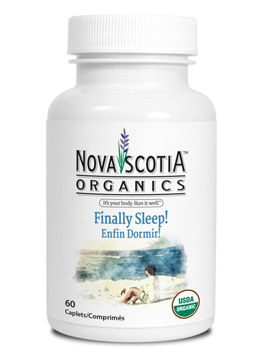 Picture of Nova Scotia Organics Finally, Sleep!, 60 Caplets