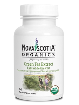 Picture of  Nova Scotia Organics Green Tea, 90 Tablets