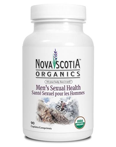 Picture of Nova Scotia Organics Men's Sexual Health, 90 Caplets