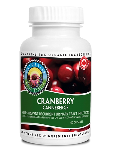 Picture of Nova Scotia Organics Cranberry, 60 Capsules