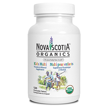 Picture of Nova Scotia Organics Kids Multivitamins,120 Chewable Tablets