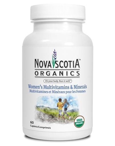 Picture of Nova Scotia Organics Women's Multivitamins & Minerals, 60 Caplets