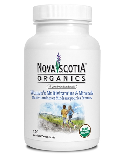 Picture of Nova Scotia Organics Women's Multivitamins & Minerals, 120 Caplets