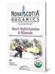 Picture of Nova Scotia Organics Nova Scotia Organics Men's Multivitamins Minerals, 14 Caplets