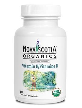 Picture of Nova Scotia Organics Vitamin B Complex, 30 Caplets