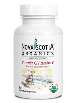 Picture of Nova Scotia Organics Vitamin C, 30 Caplets