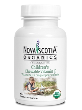 Picture of Nova Scotia Organics Vitamin C - Children's Chewable, 60 Tablets