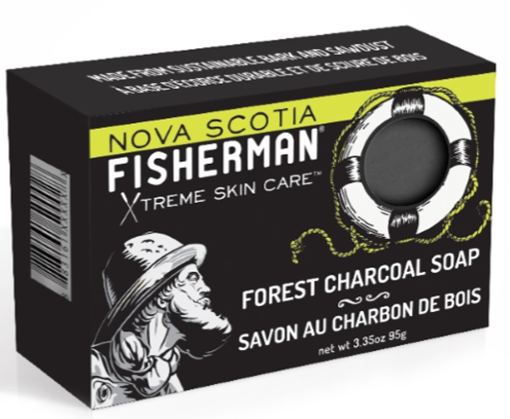 Picture of Nova Scotia Fisherman Forest Charcoal Soap, 95g