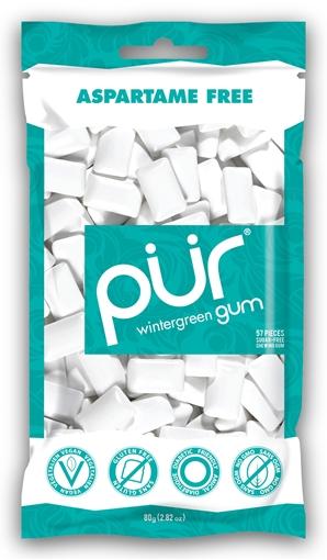 Picture of PUR Gum Wintergreen Gum, 12x55 Pieces